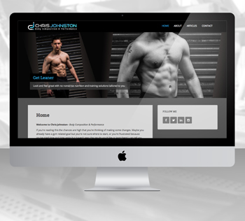 websiteChrisJFitness
