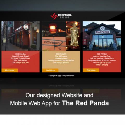 Website Designed for The Red Panda