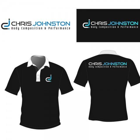 Logo design for Chris Johnston Fitness