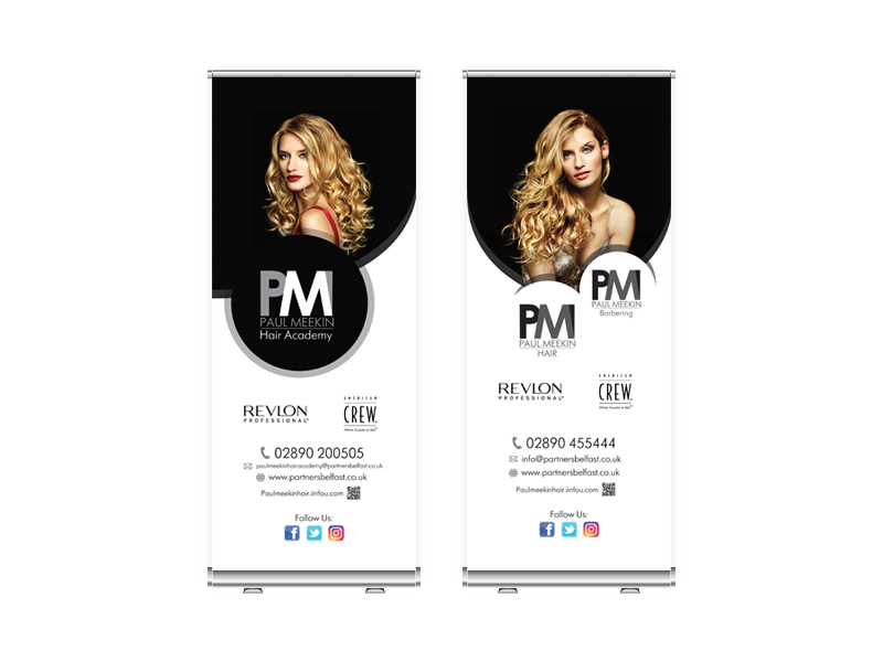 Paul Meekin Hair (Graphic Design & Print Work)