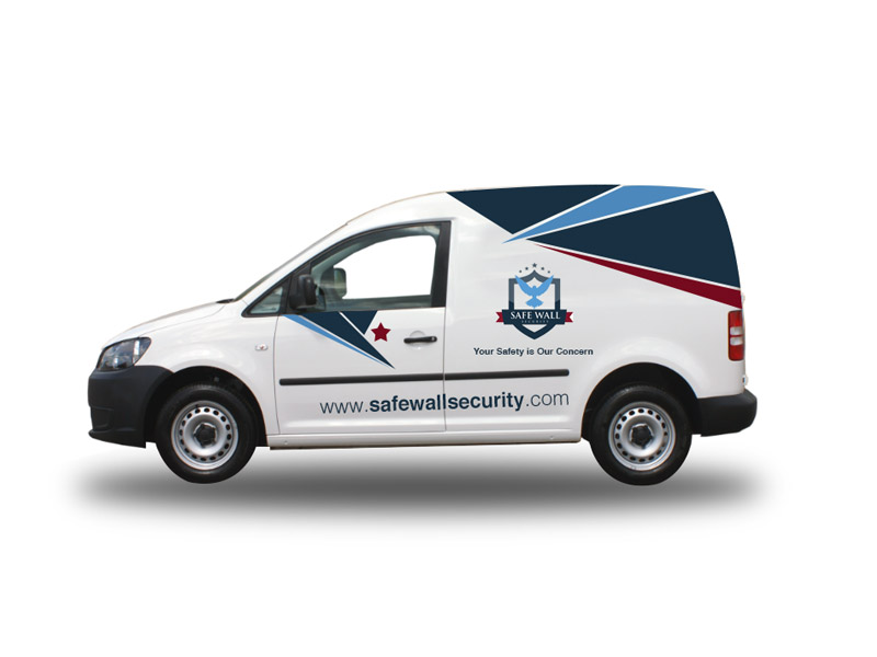 Safe Wall Security (Graphic Design & Print Work)